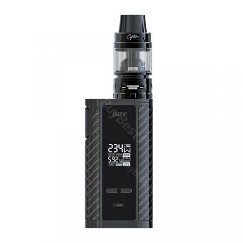 cheap 234W IJOY Captain PD270 TC Kit with Captain S Tank - 6000mAh, Black