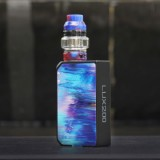 200W CoilART LUX 200 Starter Kit with LUX Mesh Tank - Blue-1