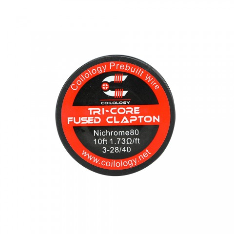 Coilology Tricore/Quad Core Fused Clapton Wire 10ft