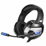 Vapeonly Gaming Headset for PS4 XBOX1 with LED Light - Black/Grey-2