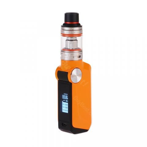 cheap 88W Voopoo Mojo with Uforce TC Starter Kit - 2600mAh, Orange 3.5ml