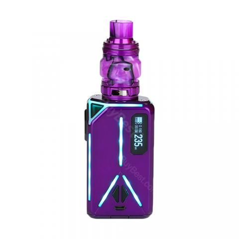 cheap 235W Eleaf Lexicon Kit with Ello Duro Atomizer - Purple 2ml