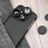 Mrs win 4 In 1 Multifunctional Phone Lens - Black Type A-3
