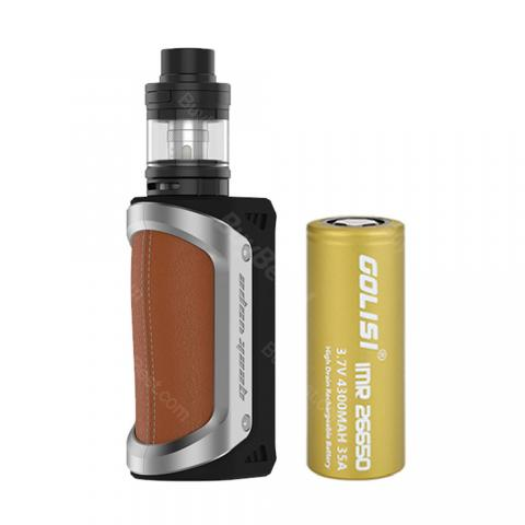100W GeekVape Aegis TC Kit with Shield Tank - 4300mAh