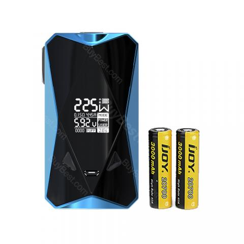 cheap 234W IJOY Diamond PD270 TC Box MOD 6000mAh with 20700 Battery - Blue