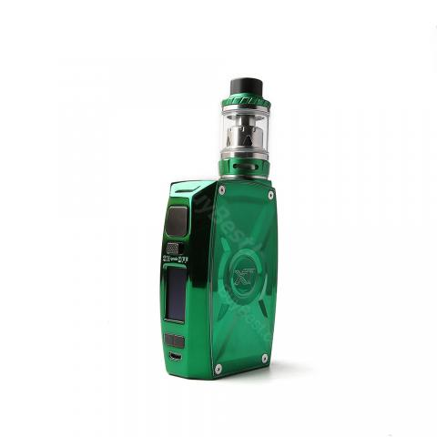 cheap  220W Tesla XT Kit With Tallica Mini Tank - Green