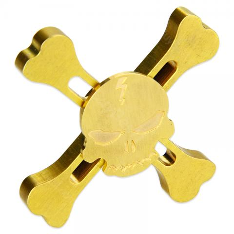 cheap Skull Fidget Spinner EDC Toy for ADD and ADHD Autism