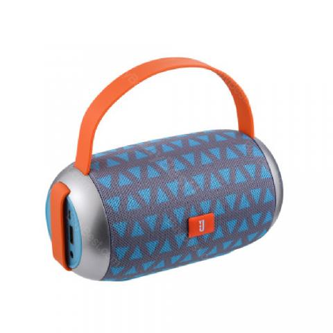 cheap Portable Bluetooth Speaker Handbag Shape - Blue