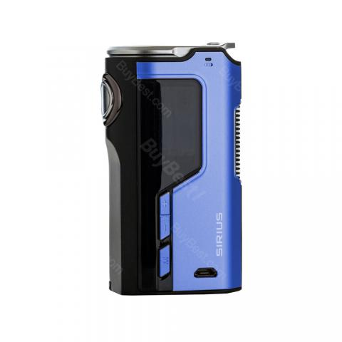 cheap 200W Modefined Sirius TC Box Mod - Blue