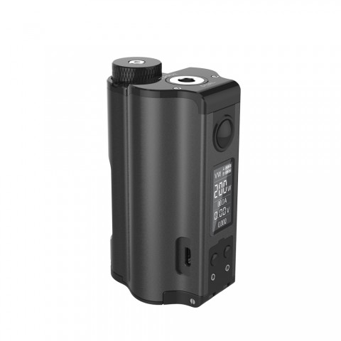cheap 200W DOVPO Topside Dual TC Squonk MOD Top Fill MOD - Black Standard Edition