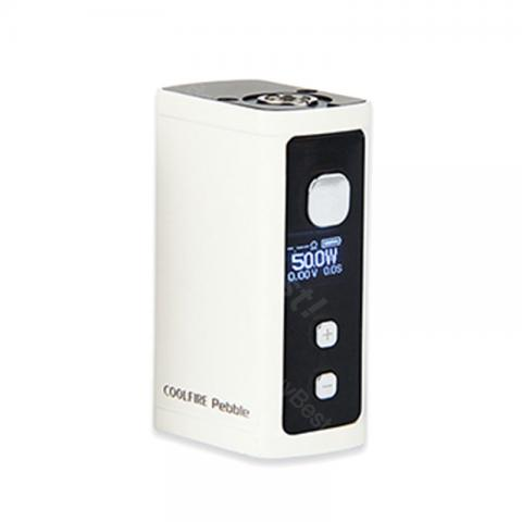 cheap 50W Innokin Cool Fire Pebble VW MOD - 1300mAh, White