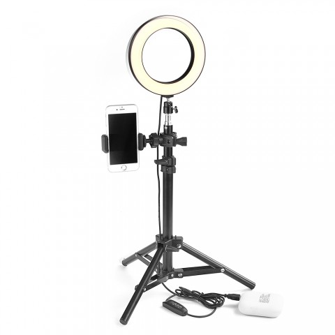 ET LED Studio Camera Ring Light Selfie Sticks