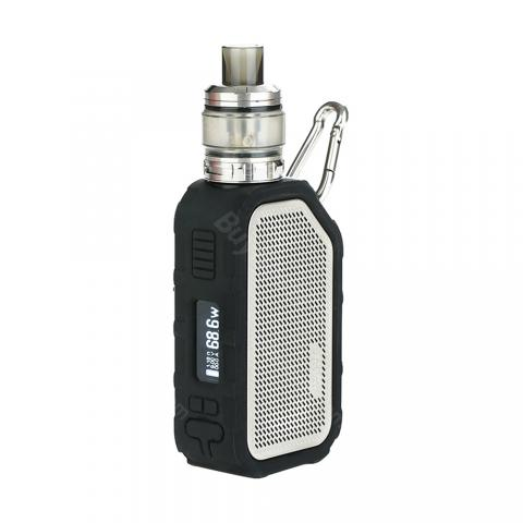 cheap 80W Wismec Active kit With Amor NS Plus Bluetooth Speaker -2100mAh, Silver 4.5ml