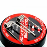 Coilology Quad Core Fused Clapton Premade Coil 10pcs/pack - 0.28ohm-3