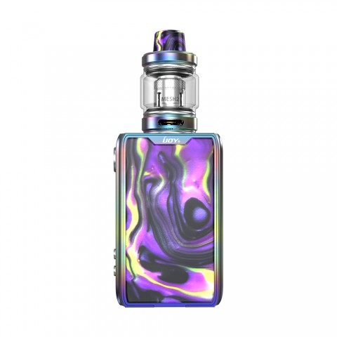 cheap 126W IJOY Shogun JR Resin TC Kit with Shogun Tank - Rainbow