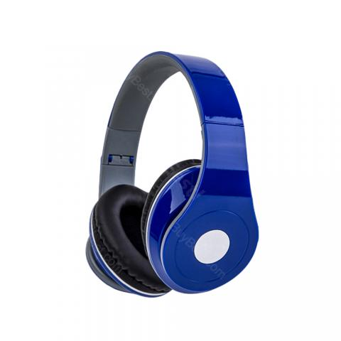 cheap BBGear DM-2600 Foldable Wired Headphone Length Adjustable, Blue