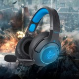 Vapeonly K9 RGB Headset For S4/Xbox One/PS4 Pro/PS4/PS 4 Slim - Black/Blue-2
