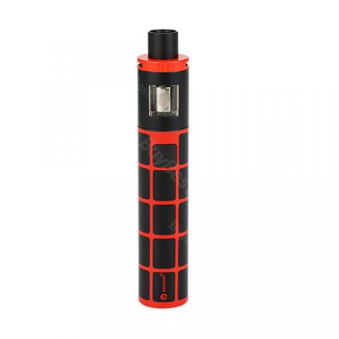 cheap 30W Joyetech eGo ONE TFTA AIO Kit - 2300mAh, Black/Red