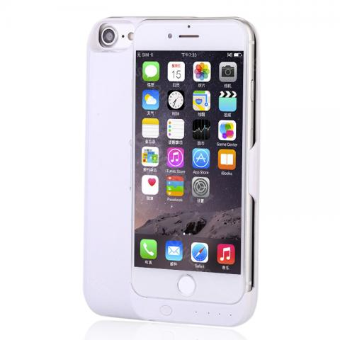 cheap Power Bank with Case for iPhone 6 Plus/6S Plus/7 Plus//7/6/6S - 10000mAh, White 5.5 Inch
