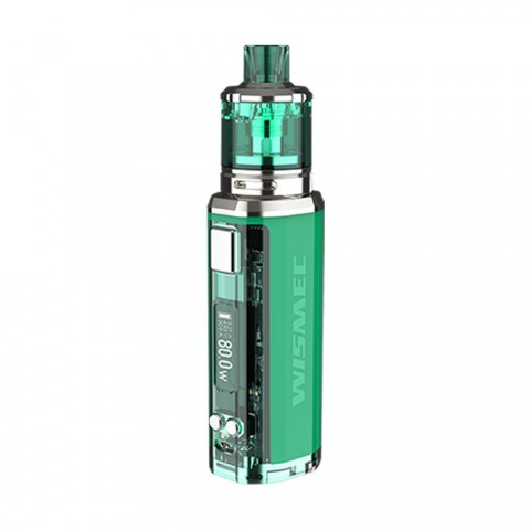 cheap 80W WISMEC SINUOUS V80 TC Kit with Amor NSE Tank - Green 3ml