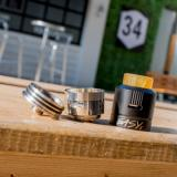 best AFK Studio Easy One EDA RDA - 2ml, Gun Metal