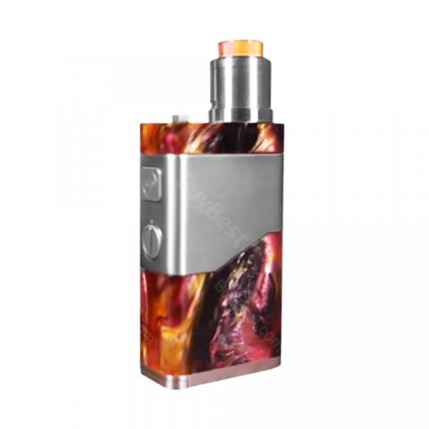 cheap 250W Wismec Luxotic NC Kit with Guillotine V2 RDA Atomizer - Red Resin