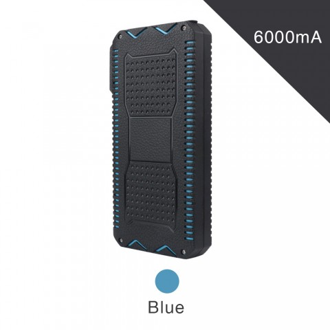 ET Waterproof Solar Powerbank for iPhone/Xiaomi - 6000mAh