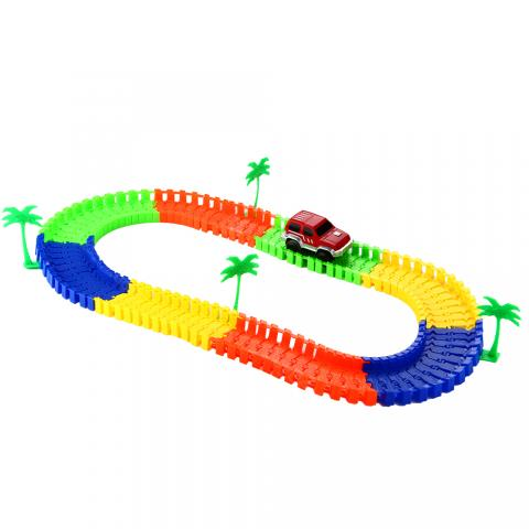 cheap Track Electronics Rail Car Toy for Children - Type A