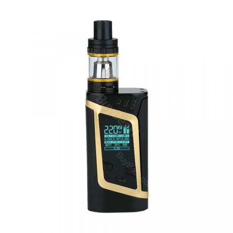 cheap 220W SMOK Alien Kit with TFV8 Baby Tank Atomizer - Champagne Gold Standard Edition