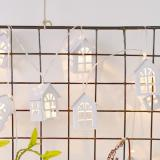G&T LED Christmas Tree House Christmas Decoration Gift - White Type A-4