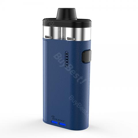 cheap Tesla Biturbo Mech Dual RDA Kit with 2 Separate RDAs - Blue