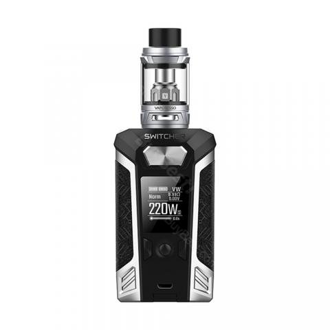 cheap 220W Vaporesso Switcher Kit with NRG/NRG Mini Tank - Silver 5ml