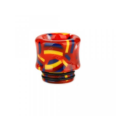 cheap New Resin Flag 4# 810 Drip Tip 0328               - Type E