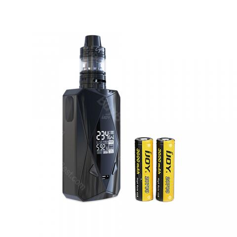 cheap 234W IJOY Diamond PD270 TC Kit 6000mAh with Captain Mini Tank - Black