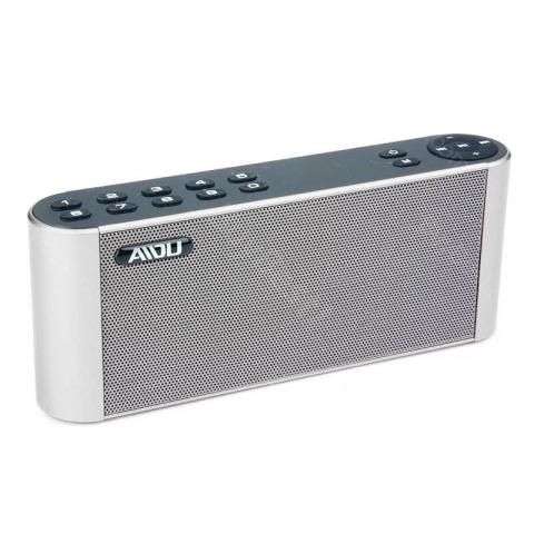 cheap AIDU Q8 HIFI Bluetooth Speaker - Silver