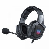 best Vapeonly K8 RGB LED lighting Headset For S4/Xbox One - Black