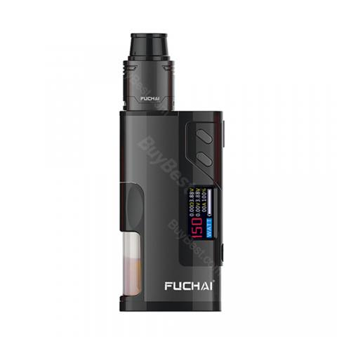 cheap 150W Fuchai Squonk 213 Kit with Fuchai RDA Tank - Black