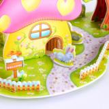 Enjoybay PT-1 3D Paper Houses Puzzle Toy-3