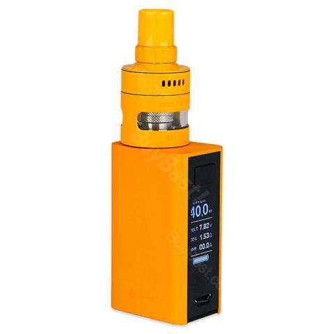 cheap 60W Joyetech eVic Basic Kit 1500mAh with CUBIS PRO Mini Tank - Orange