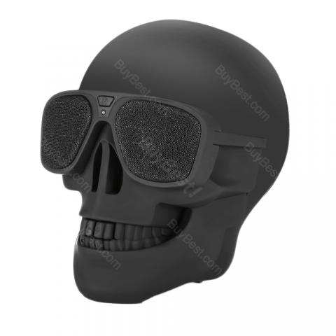 Wireless Portable Skull Bluetooth Speaker