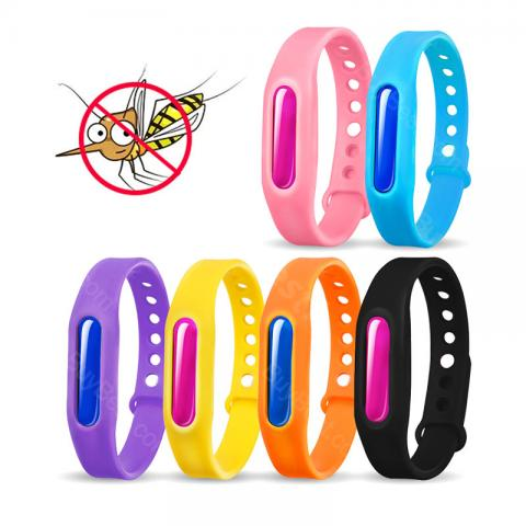 cheap Candy Color Mosquito Repellent Bracelet - Random Color
