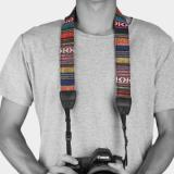 ET Ethnic Style Camera Strap - Rainbow-5