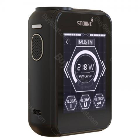 cheap 218W Smoant Charon TS Touch Screen TC MOD - Black