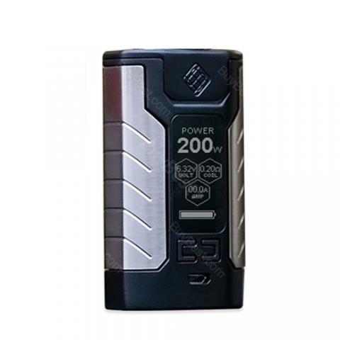 cheap WISMEC SINUOUS FJ200 TC MOD 4600mAh - Black
