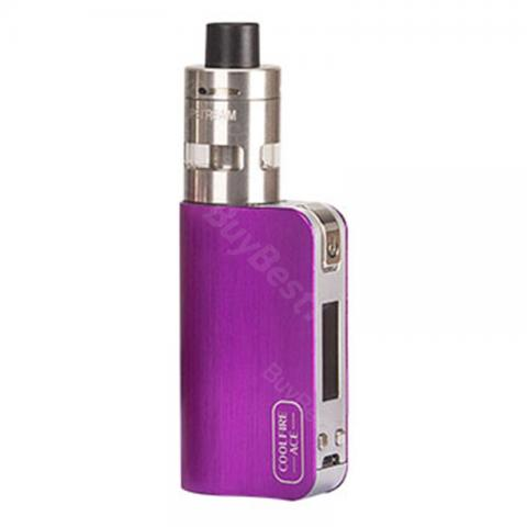 cheap 40W Innokin CoolFire ACE Kit with SlipStream Atomizer - 1300mAh, Purple