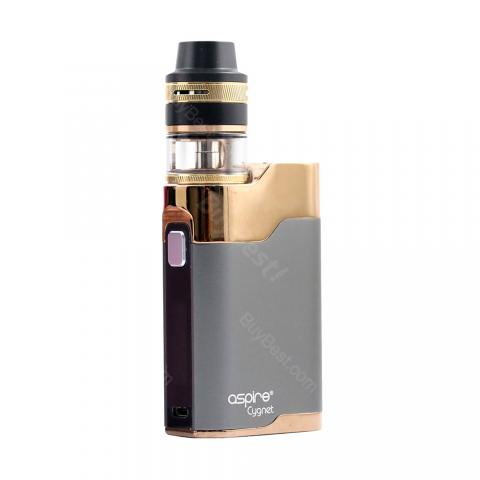 cheap 80W Aspire Cygnet kit  with Revvo mini Tank - Grey/Gold