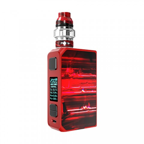cheap 200W CoilART LUX 200 Starter Kit with LUX Mesh Tank - Red
