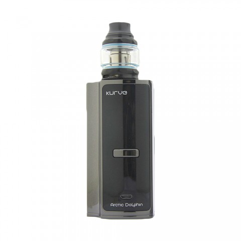 cheap 220W Arctic Dolphin Kurve Vape Kit with Kurve RBA Tank - Black