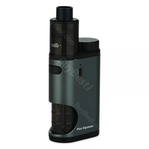 cheap 50W Eleaf Pico Squeeze Kit with Coral Tank - Grey