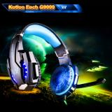 KOTION EACH G9000 Headset - USB Version, Black/Blue-1